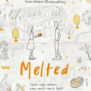 Ebook : Melted by Mayang Aeni