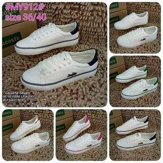 Lacoste shoes size : 36-40