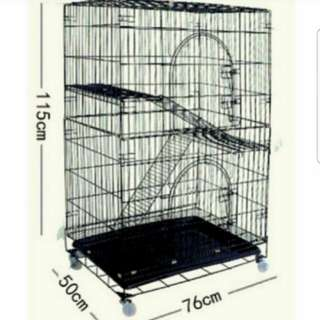 Instock cat cage