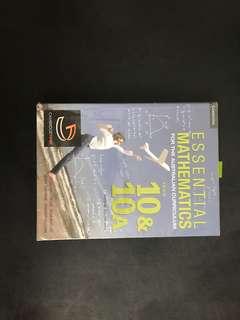 Cambridge Essential Mathematics year 10 & 10A