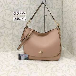 Coach Turnlock Bag Khaki Color
