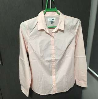 REPRICED Old Navy- Pink Polo