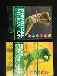 Nelson Physical Education Textbook and Peak Performance Workbook