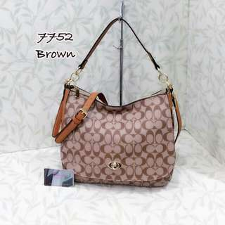 Coach Hobo Bag Brown Color