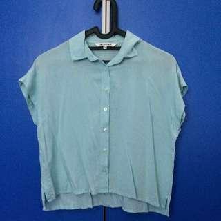 colorbox crop shirt (tosca)