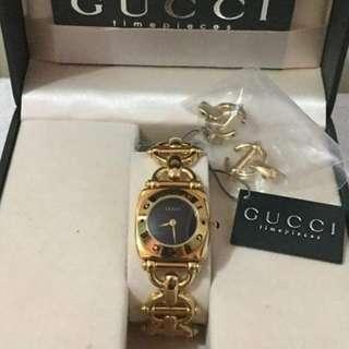 Gucci Authentic Gold Color Bracelet Watch
