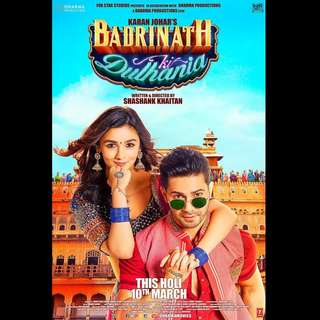 [Rent-A-Movie] BADRINATH KI DULHANIA (2017) [BOLLYWOOD]