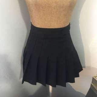 American Apparel Black Tennis Skirt (XS and S)