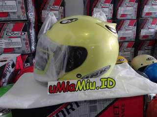 Helm Best1 Model INK Centro KW Supeer Kuning Lemon
