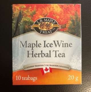 Maple Ice Wine Herbal Tea from Canada 加拿大茶葉