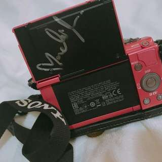Sony α5000 with Nadine Lustre's signature