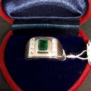 100% Genuine Panjshir Emerald Gemstone Ring
