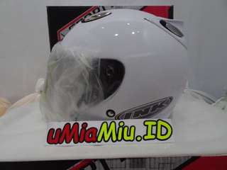Helm Best1 Model INK Centro KW Supeer Putih