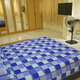 Spacious Fully Renovated Bedroom incl Aircon,Wifi & Utilities