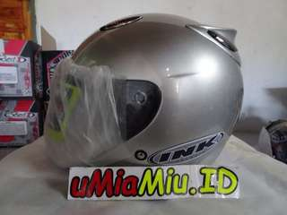 Helm Best1 Model INK Centro KW Supeer Silver