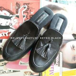Keyko Black Mules