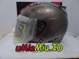 Helm Best1 Model INK Centro KW Supeer Capucino Metalik