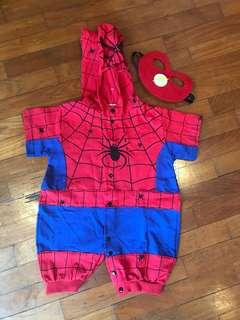 Spider-Man costume for baby boy 0-6 months