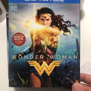 Brand new Wonder Woman bluray + DVD combo