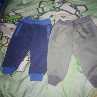 2pcs jogging pants