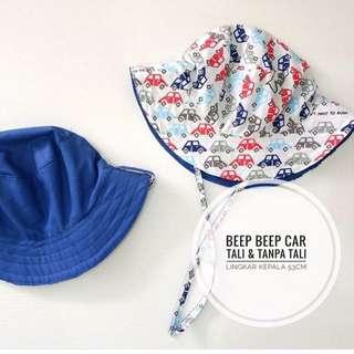 Bucket Hat Anak Beep Beep Car