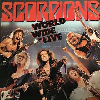 Scorpions 2 vinyl records