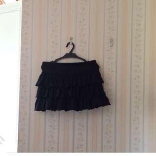 Terranova Black Skater Skirt