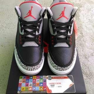 Air Jordan 3 OG Black Cement