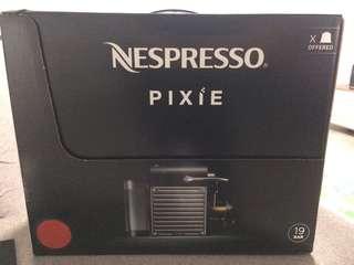 Nespresso Pixie (Red/Orange)
