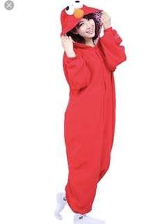 Cute Elmo adult onesie