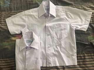 Boys White Polo Uniform (2)