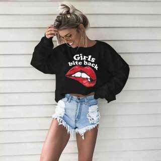 PREORDER Crop Style Sweater