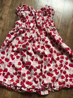 Gymboree cute strawberry 🍓 dress