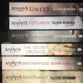 Assassins Creed - set of 6 books