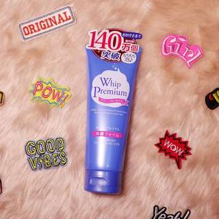 Premium Whip Facial Foam Cleanser from Japan