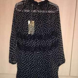Free Size Translucent Dress