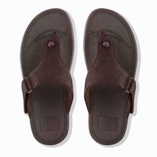 ece3c860532 FitFlop Men s TRAKK™ II Leather Sandals