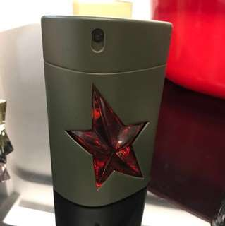 Thierry Mugler B MEN. 100ml. Metal flask cover