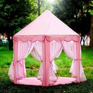 Hexagon play tent