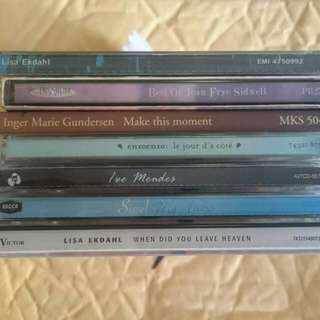 Assorted Female Artistes music CD