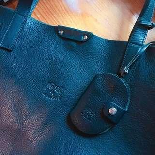 IL BISONTE leather bag