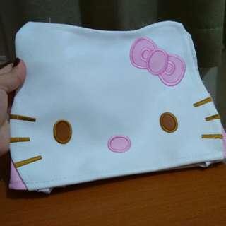 Tempat Tissue Hello Kitty Bordir