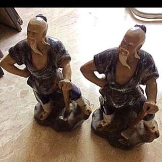 Mudmen figurines