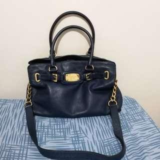 Michael Kors East West Hamilton Leather Bag