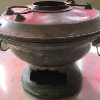 Late 1930's Chinese hot pot/ steamer( rare)