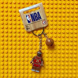 NBA keychains LeBron Curry Jordan Kobe