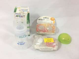 Avent Pacifier & Avent Bottle