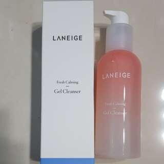 New 230ml Laneige Fresh Calming Gel Cleanser