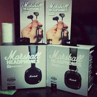 Marshall Headphones And Earphones