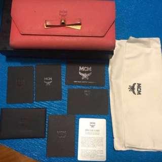 MCM wallet (有盒,有塵袋,有晒所有卡)